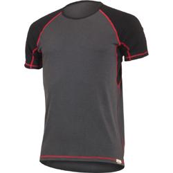 7497f693cb0 Тениска от 100% мериносова вълна с елегантен двуцветен дизайн.